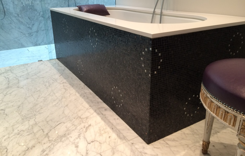 The Swarovski Crystal Collection, Flash Black, Bisazza